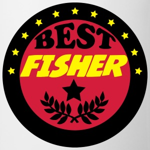 Best fisher Camisetas - Taza