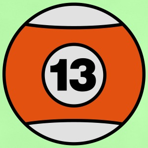 Billiard Ball Number 13 - V3 Shirts - Baby T-Shirt