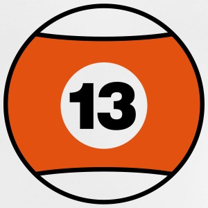 Billiard Ball Number 13 - orange - V2 Shirts - Baby T-Shirt