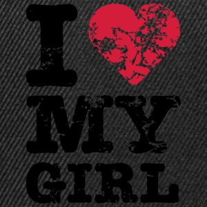I Love My Girl T-Shirts - Snapback Cap