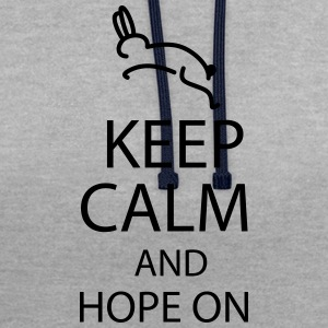 hope on T-Shirts - Kontrast-Hoodie