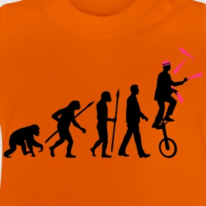 evolution_of_man_jongleur01_2c T-Shirts - Baby T-Shirt