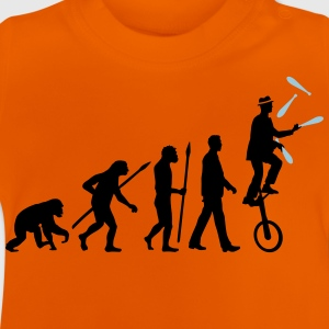 evolution_of_man_jongleur03_2c T-Shirts - Baby T-Shirt