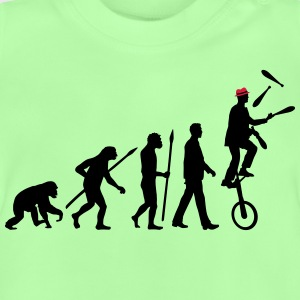 evolution_of_man_jongleur02_2c T-Shirts - Baby T-Shirt