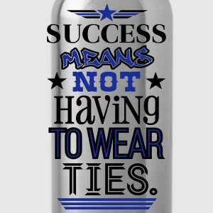 The True Meaning of Success T-Shirts - Trinkflasche