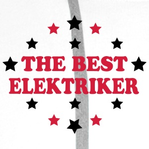 The best elektriker T-skjorter - Premium hettegenser for menn
