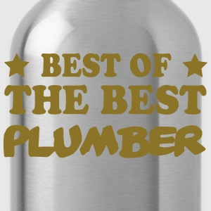 Best of the best plumber T-skjorter - Drikkeflaske