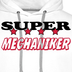Super mechaniker T-skjorter - Premium hettegenser for menn