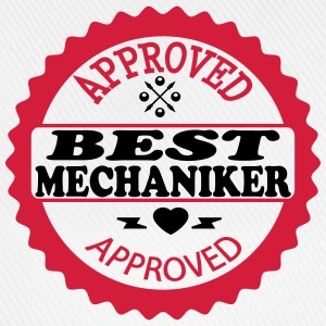 Approved best mechaniker T-Shirts - Baseballkappe