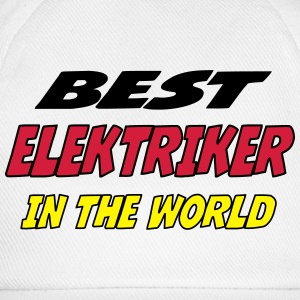 Best elektriker in the world Koszulki - Czapka z daszkiem