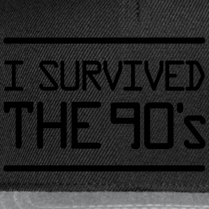 I Survived the 90´s T-shirts - Snapback cap