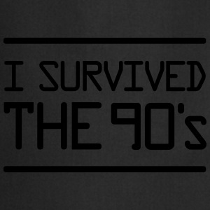 I Survived the 90´s T-Shirts - Cooking Apron