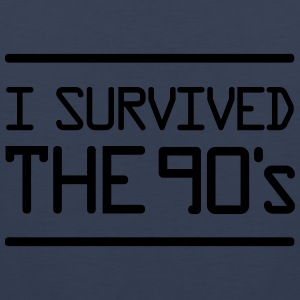I Survived the 90´s T-Shirts - Men's Premium Tank Top
