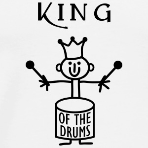 King of the Drums Other - Men's Premium T-Shirt