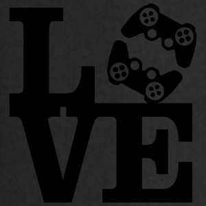 Love Gaming (Controller) T-shirts - Förkläde