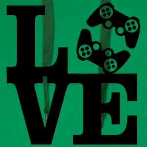 Love Gaming (Controller) T-Shirts - Men's Premium Hoodie