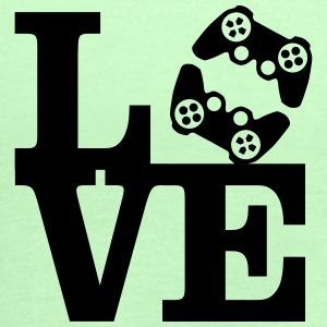 Love Gaming (Controller) T-Shirts - Women's Tank Top by Bella