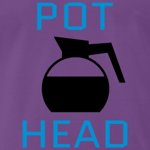 Pot Head Pullover & Hoodies - Men's Premium T-Shirt