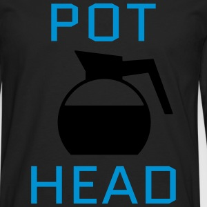 Pot Head T-Shirts - Men's Premium Longsleeve Shirt