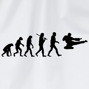 Evolution of Karate T-Shirts - Turnbeutel