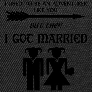 Skyrim Marriage T-shirts - Snapback Cap