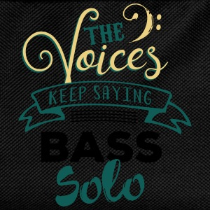 Bassist Shirt The voices keep telling Bass Solo T-Shirts - Kinder Rucksack