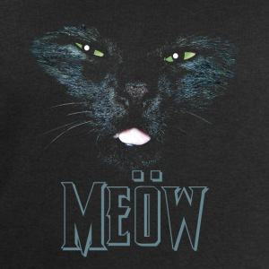 Black Cat shirt meow Heavy Metal black shirt Other - Men's Sweatshirt by Stanley & Stella