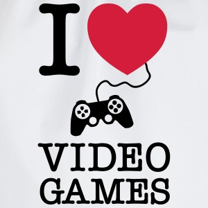 I Love Video Games T-shirts - Gymtas