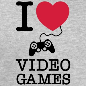 I Love Video Games T-shirts - Sweatshirt herr från Stanley & Stella