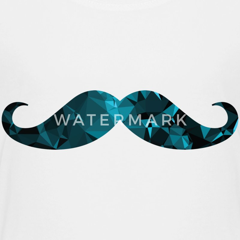 Moustache (Low Poly Style) Shirts - Teenage Premium T-Shirt