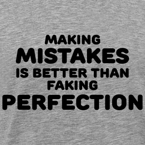 Making mistakes Langarmshirts - Männer Premium T-Shirt