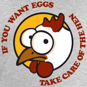 Take care of the hen T-shirts - Herresweatshirt fra Stanley og Stella