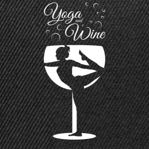 Yoga And Wine Pullover & Hoodies - Snapback Cap