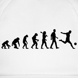 Evolution of Soccer T-Shirts - Baseballkappe