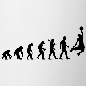 Evolution of Basketball T-Shirts - Tasse