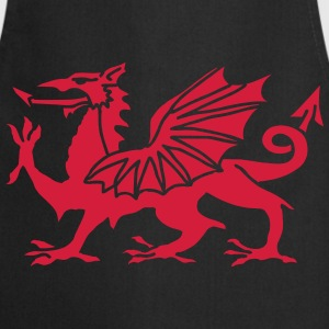 Welsh Dragon T-Shirts - Cooking Apron