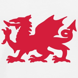 Welsh Dragon Mugs & Drinkware - Men's Premium T-Shirt