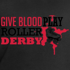 Give blood. Play roller derby T-Shirts - Männer Sweatshirt von Stanley & Stella