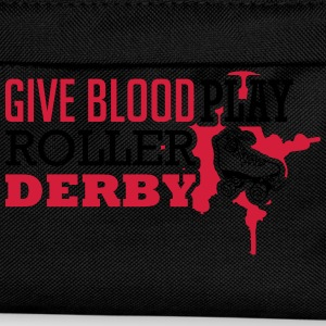 Give blood. Play roller derby Magliette - Zaino per bambini