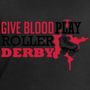 Give blood. Play roller derby Tops - Männer Sweatshirt von Stanley & Stella