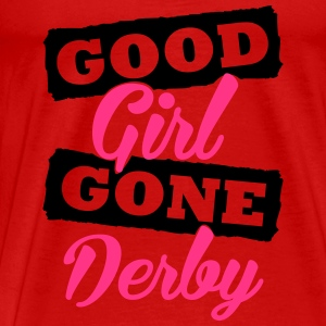 Good girl gone derby Tops - Männer Premium T-Shirt