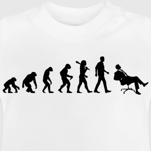 Evolution of Chilling T-Shirts - Baby T-Shirt