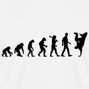 Evolution of Breakdance Langarmshirts - Männer Premium T-Shirt