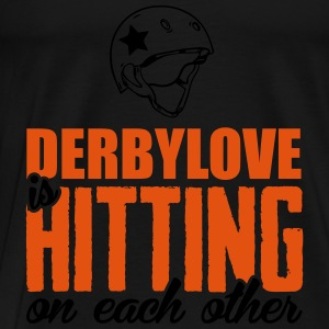 Derbylove is hitting on each other Tops - Männer Premium T-Shirt