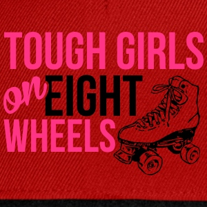 Tough girls on eight wheels Tee shirts - Casquette snapback