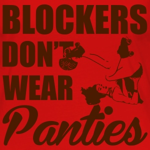 Blockers don't wear panties Top - Maglietta Premium a manica lunga da donna