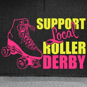 Support local roller derby Tops - Snapback Cap