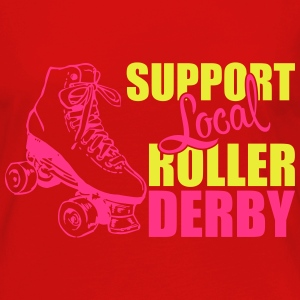 Support local roller derby Top - Maglietta Premium a manica lunga da donna