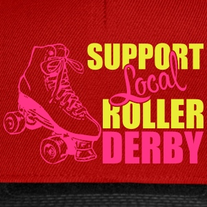 Support local roller derby Débardeurs - Casquette snapback