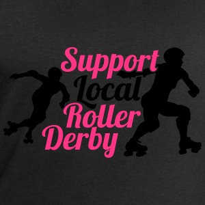 Support local roller derby T-Shirts - Männer Sweatshirt von Stanley & Stella